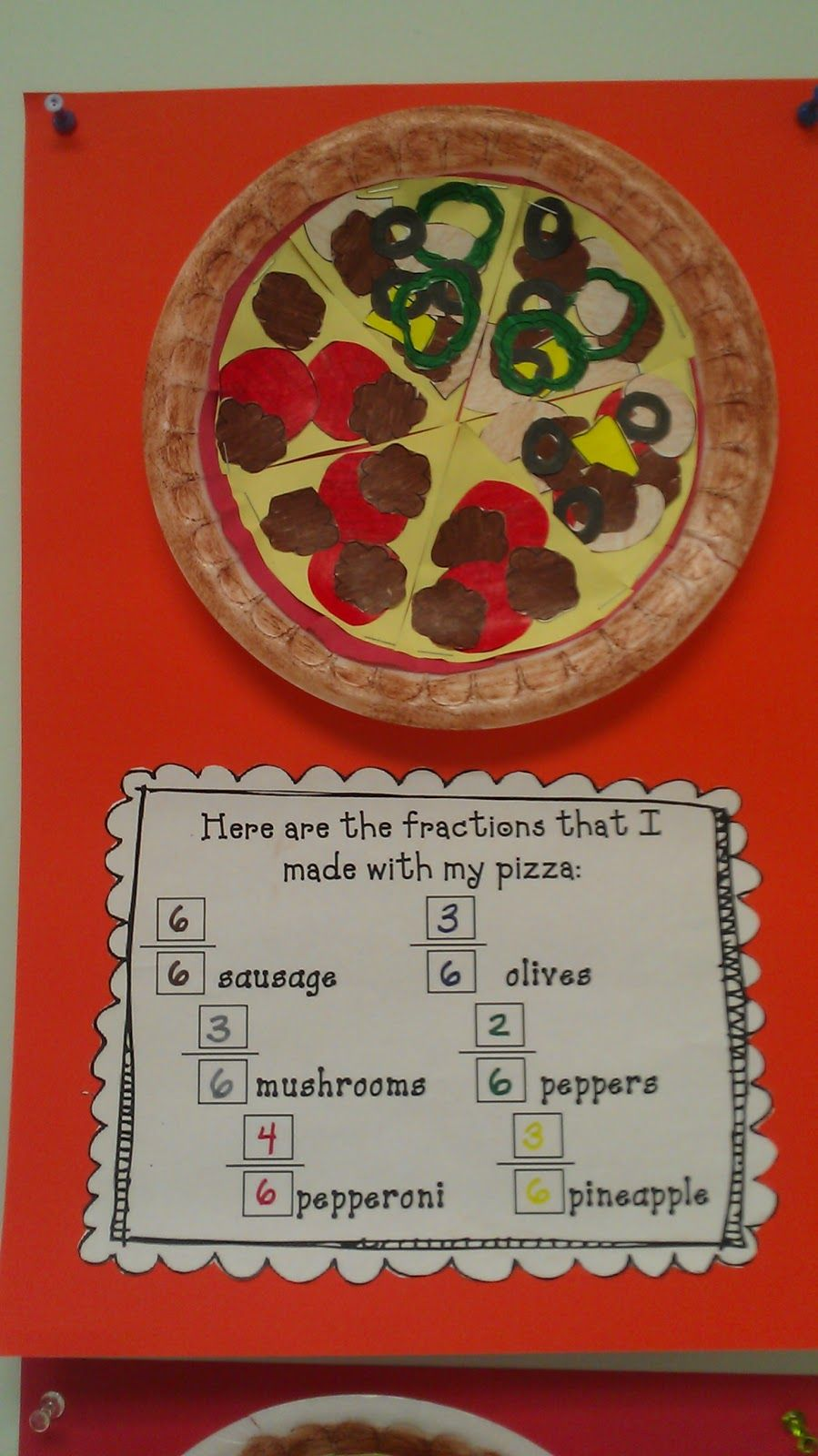 Pizza Fractions and other math activities | 3 ano | Pinterest ...