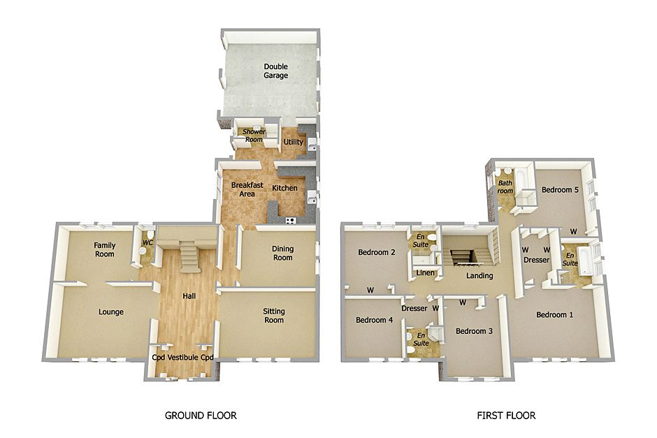 Two Story House Plans 3d Google Search Houses Apartments Layouts