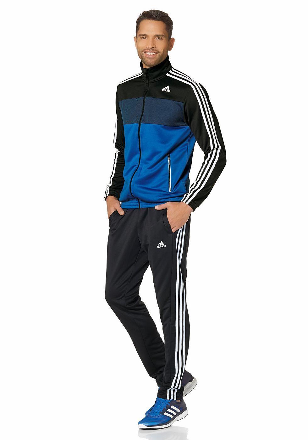 adidas performance trainingsanzug cotton relax tracksuit
