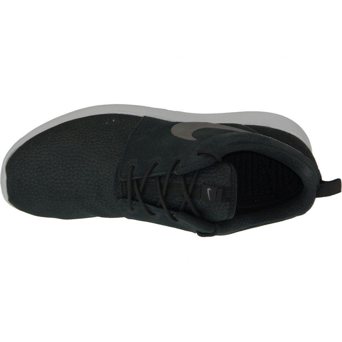 Buty Nike Roshe One Suede M 685280 001 Czarne Nike Roshe Sports Footwear Black Shoes