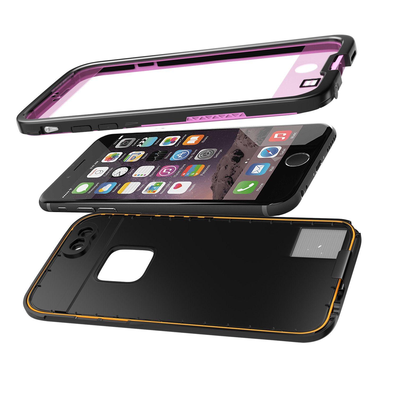 iPhone 6S/6 Waterproof Case, Punkcase SpikeStar Pink