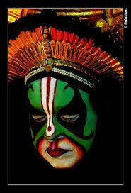 Yakshagana Face Painting Google Search Tribal Paint