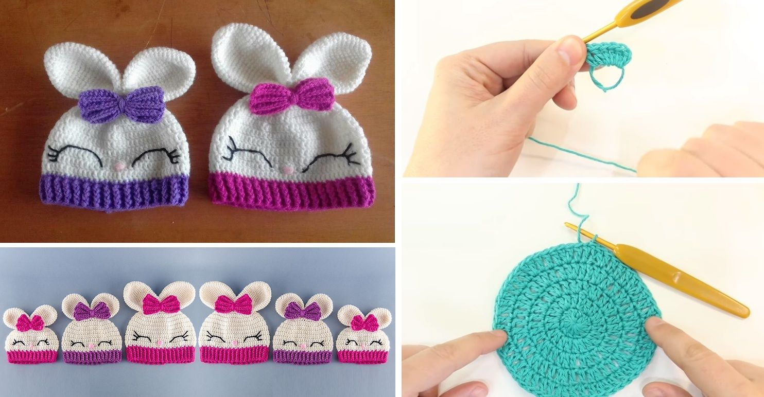 95a08063a080c Want yourself this cute bunny hat. Maybe you want something like these for  kids around you. If so