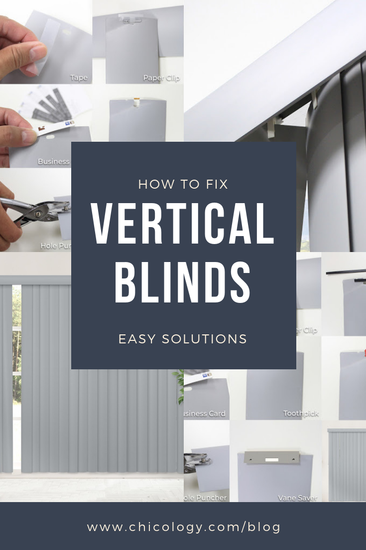 How to Fix Broken Vertical Blinds A Guide for the NotSo