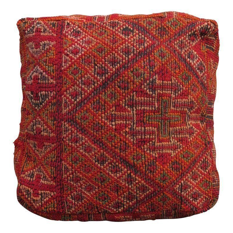 Moroccan Kilim Floor Pillow Moroccan kilim, Floor