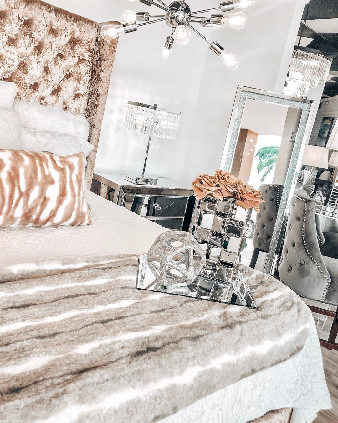 """Coco Furniture Gallery on Instagram: """"Kimberly Queen Bed on Sale for $399! Call/Text 305-570-1123 to reserve yours today 🧡 -  #realtor #realestatemiami #love #midtownmiami…"""""""