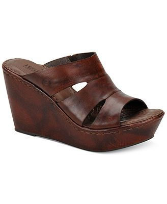 Born Amalia Platform Wedge Sandals | Cute ClothesStyle