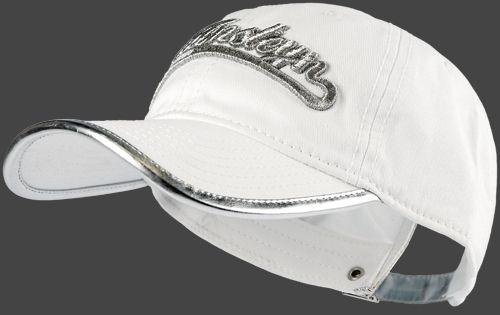 Materialzusammensetzung: Außen: 100% Baumwolle; Farbe: weiß, mit silberner Schrift, eingefaßter Rand am Schild ebenfalls in silber