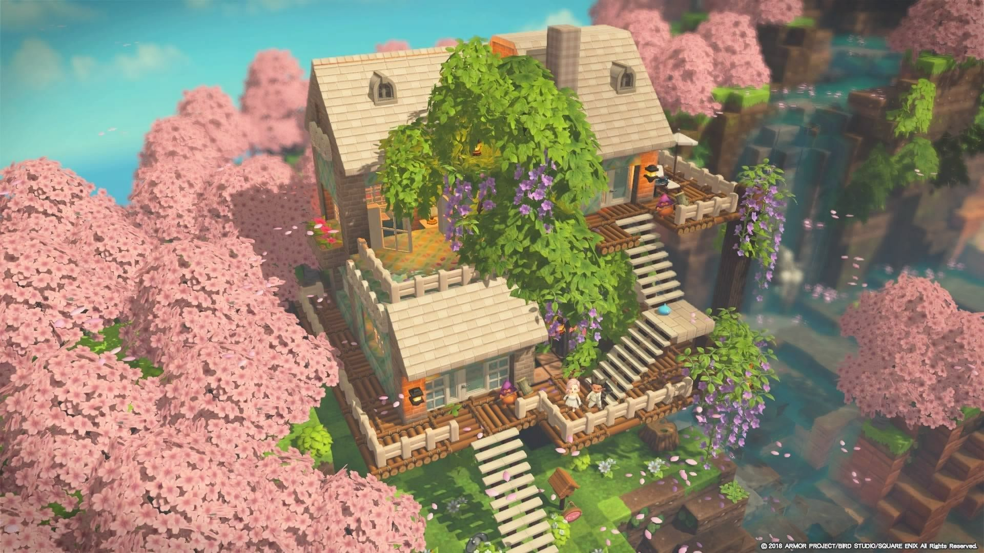 Builders Gallery Dragon Quest Builders 2 Square Enix In 2021 Cute Minecraft Houses Animal Crossing Game Dragon Quest