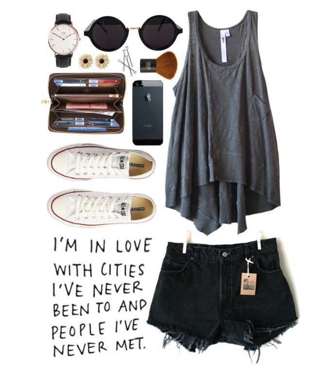 """Simplicity"" by rach-tulla ❤ liked on Polyvore featuring INC International Concepts, American Apparel, Levi's, Wilt, Converse, Louis Vuitton, Daniel Wellington, Topshop and Rock 'N Rose"