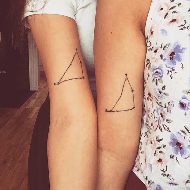 sister matching tattoo_02 | sister tats | Pinterest | Matching ...