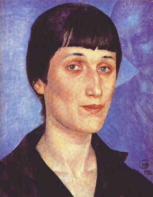 petrov vodkin the poet anna akhmatova