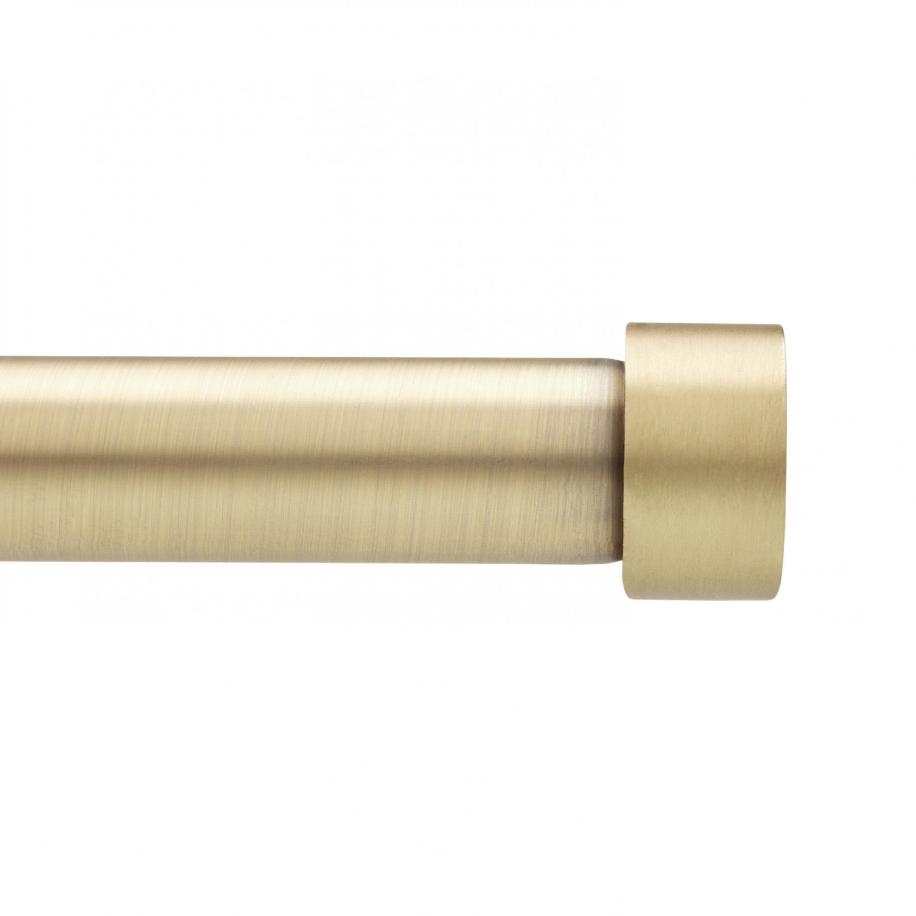 Modern Brass Curtain Rod Cappa 66 120 Quot Umbra Living