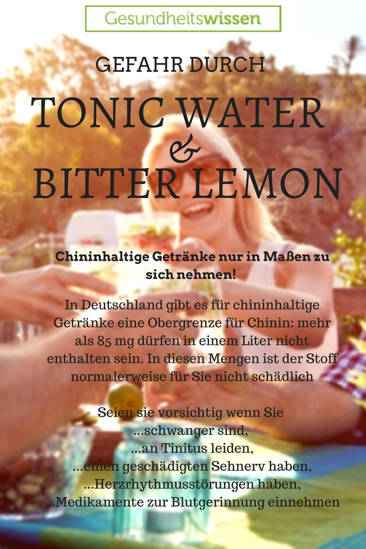 Sicherlich kennen Sie Bitter Lemon oder Tonic Water. Dies sind ...