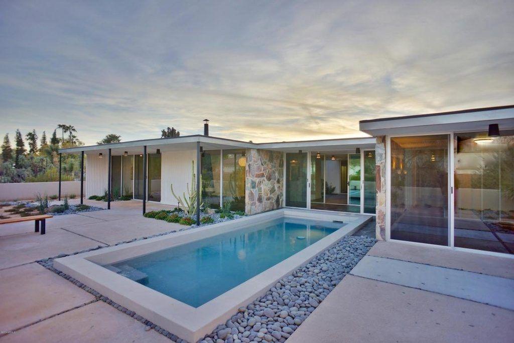 Desert Modernist Al Beadle\'s Own Midcentury Home Asks $995K | Deserts