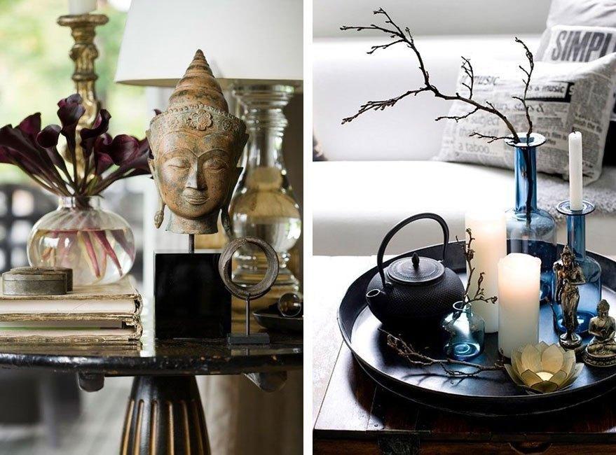 Estilo japonés en la decoración de interiores - decoracion zen