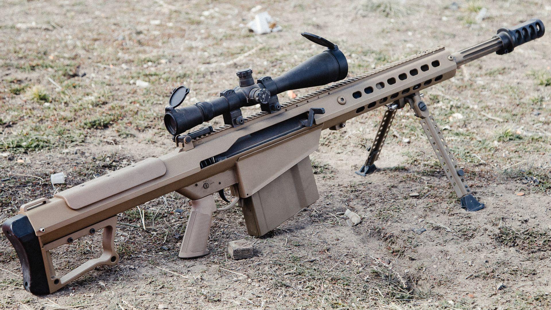 barrett m82 50 bmg anti materiel rifle barrett m82 photo