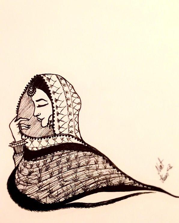 My Artwork #NeetKaur <३ #Punjaban for Jangiiro Follow