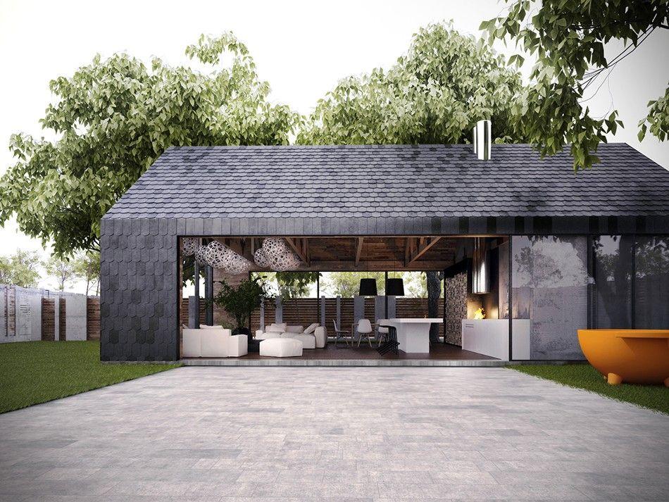 Idée... | Montignac | Pinterest | Architecture, Maison bois et Idée
