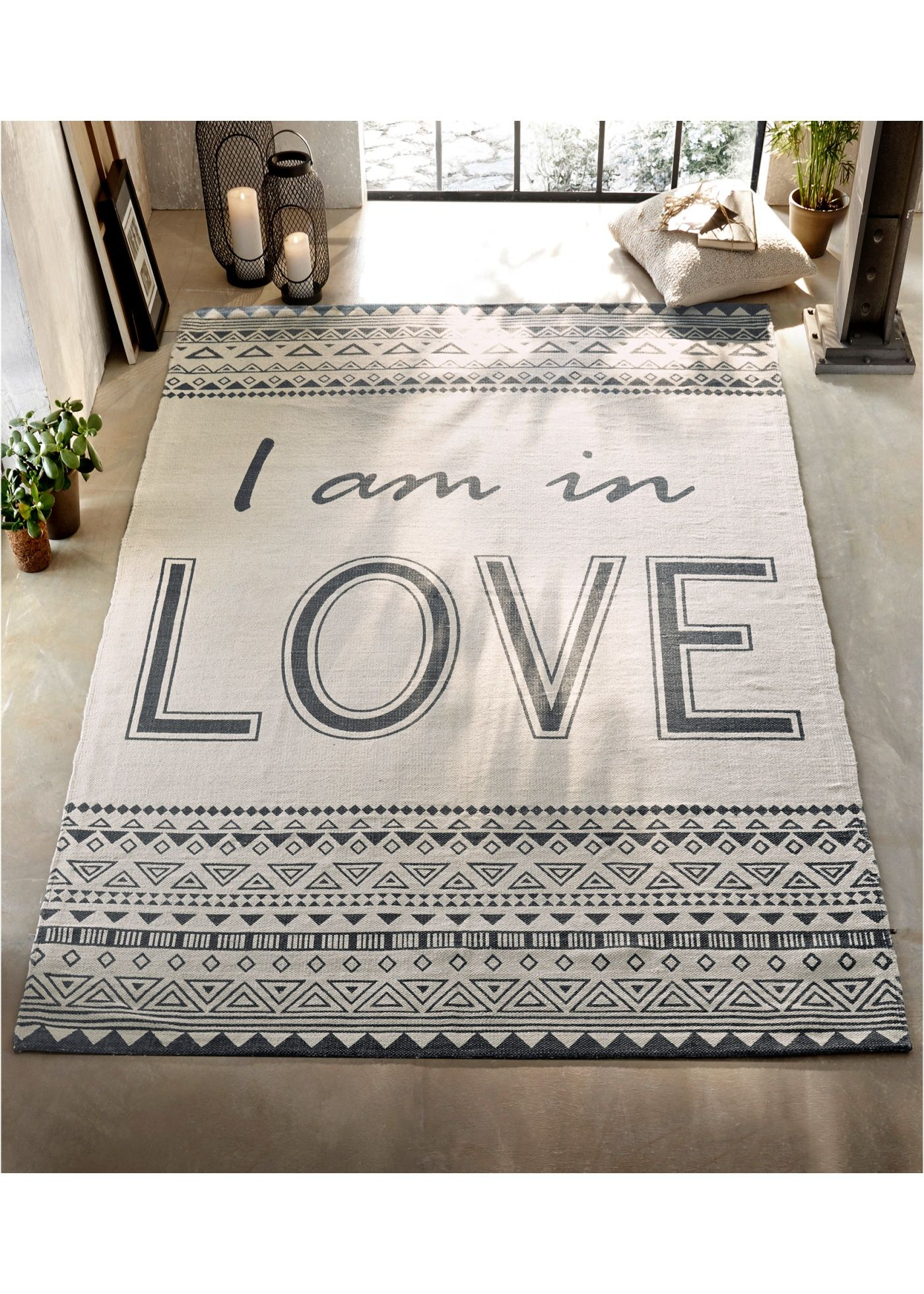 Handgewebter und pflegeleichter Teppich | Decoration
