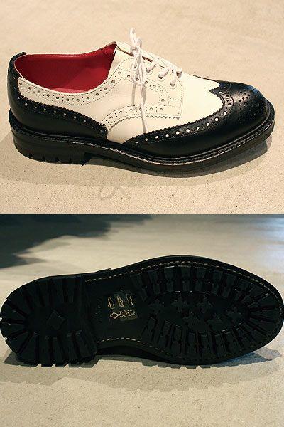 Junya Watanabe COMME des GARÇONS Trickers Tank Sole Shoes