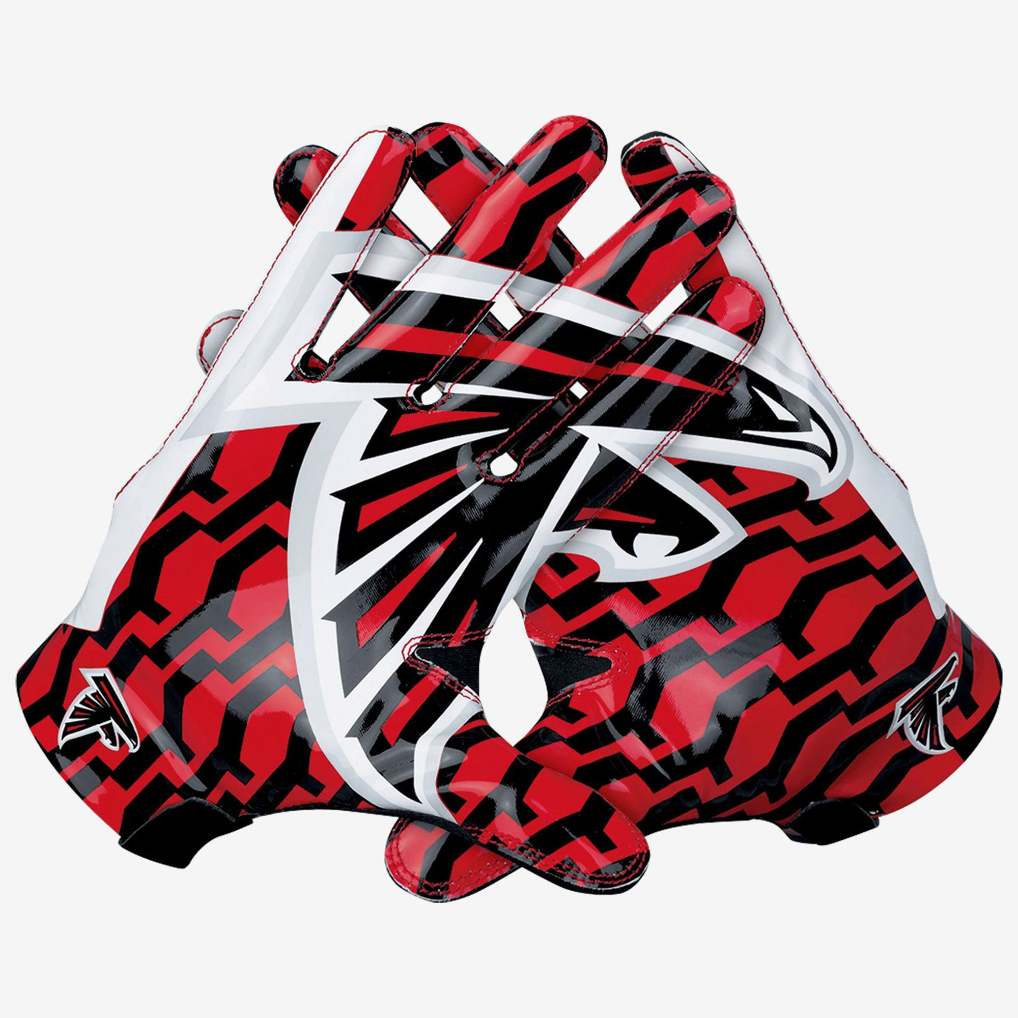 Mens Atlanta Falcons Nike Red Vapor Fly Team Authentic Series Gloves Atlanta Falcons Stadium Atlanta Falcons Nike Atlanta Falcons