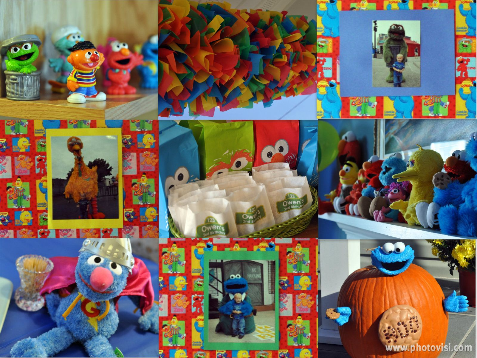 Sesame Street Bedroom Decorations Sesame Street Party Decorations Owens 2nd Birthday Pinterest