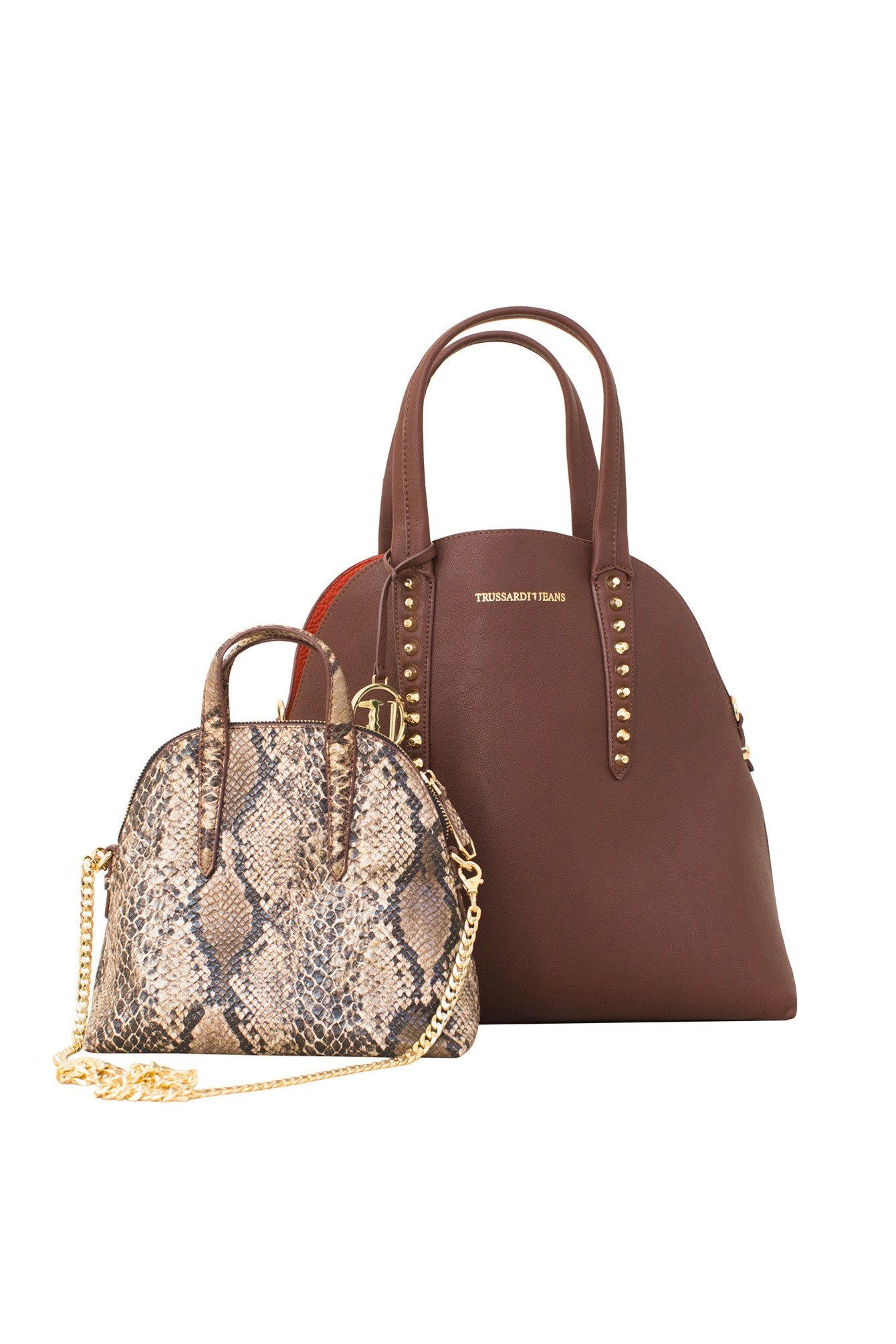 4f9a17946bd7 The Reversible Aspen Combo bag pulls double duty! A different shade on each  side and a faux leather mini bag in crocodile print. This handbags features  ...