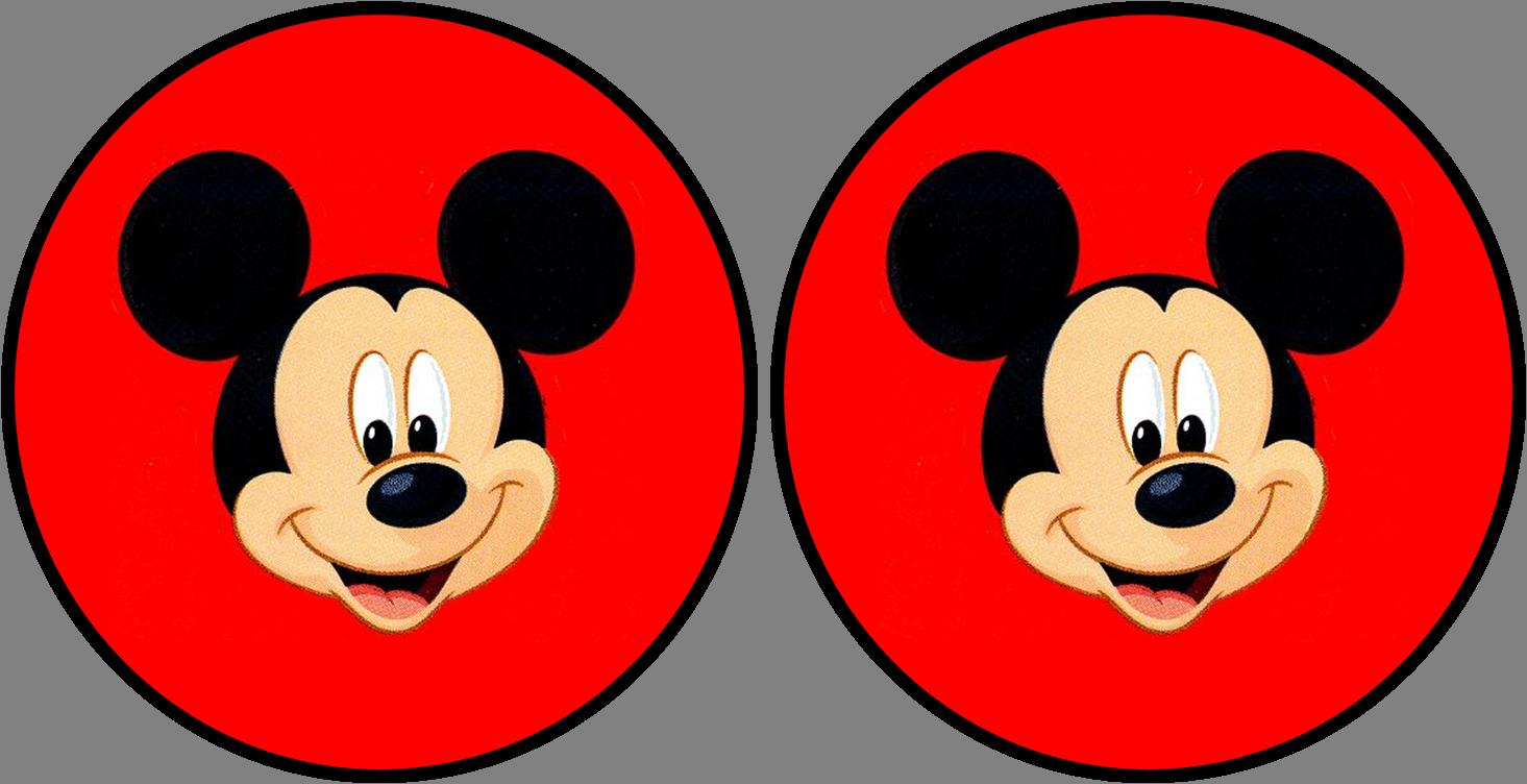 Mickey: Kit Rojo para Imprimir Gratis. | Mickey Mouse | Pinterest ...