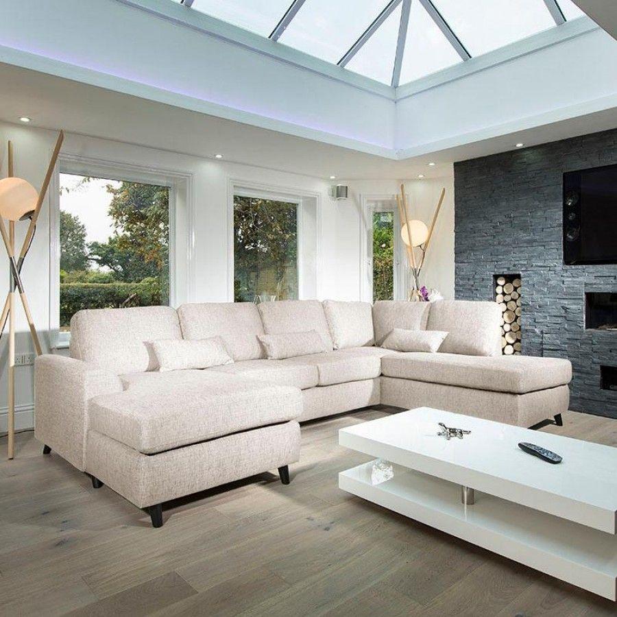 Attrayant Harold Large Modern Luxury Settee 3.0 Metre X 2.0 Metre L Shape Corner R/H