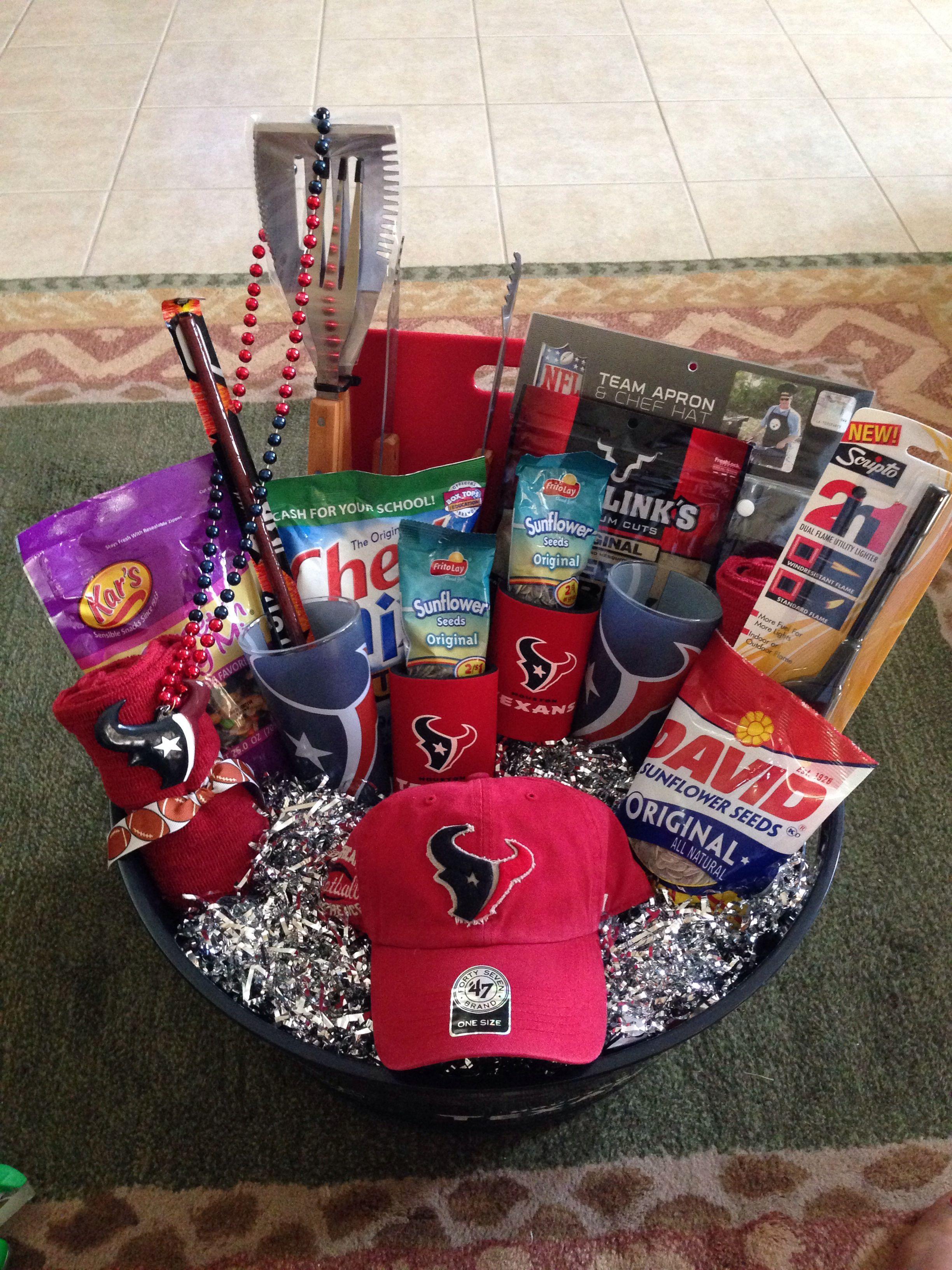 Texans T Basket Raffle Prize