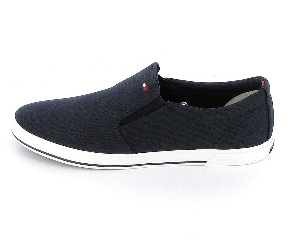 Tommy Hilfiger Harry Herren Sneaker aus Textil in Midnight (blau)