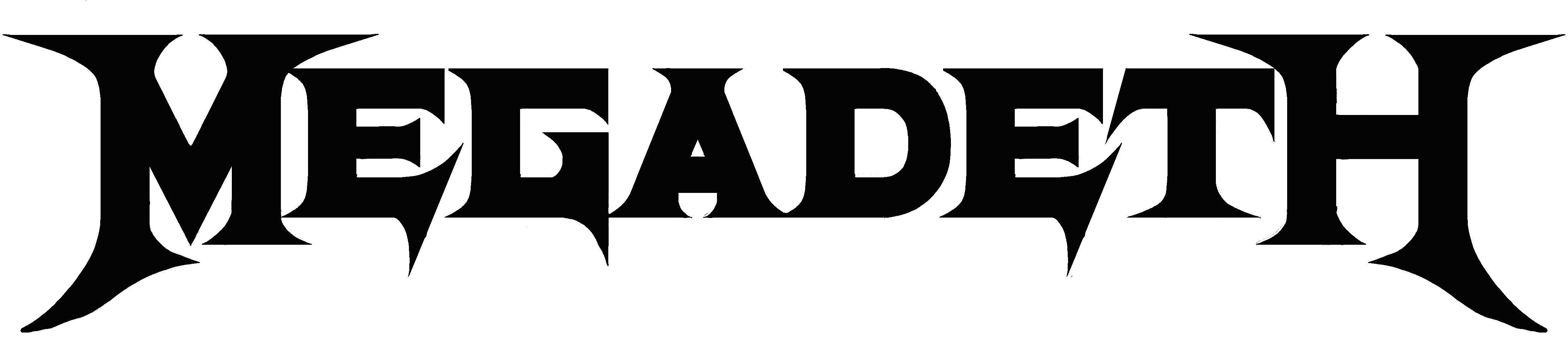 Megadeth band logo Megadeth, Bandas de rock, Logos de