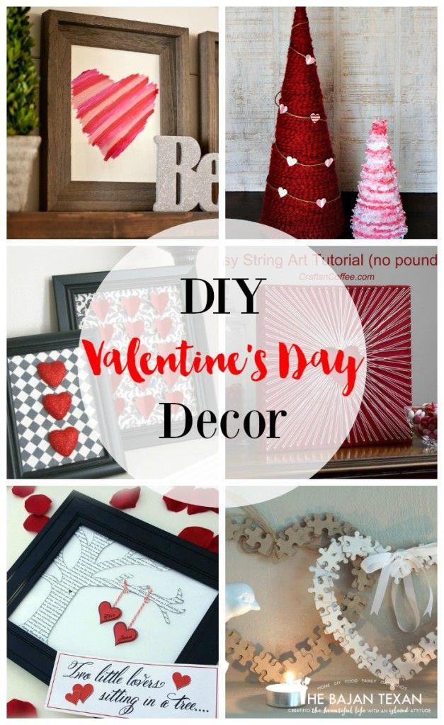 Easy Valentineu0027s Day DIY Decor Ideas | DIY Valentine, Easy And Valentines  Diy