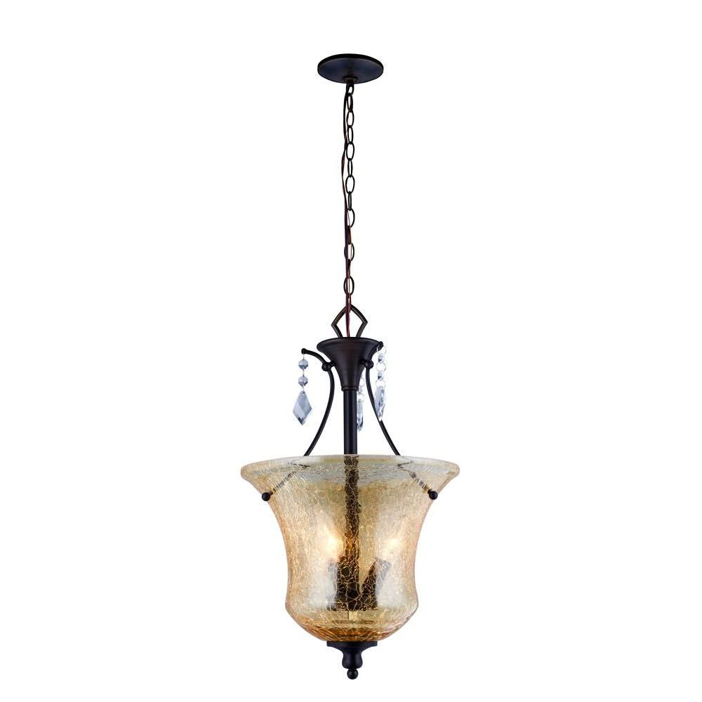 Old World Elegance: World Imports Ethelyn Collection 3-Light Oil Rubbed Bronze