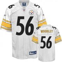 000fcea3673 Pittsburgh Steelers #56 LaMarr Woodley White Jersey ID:90302844 $20 ...
