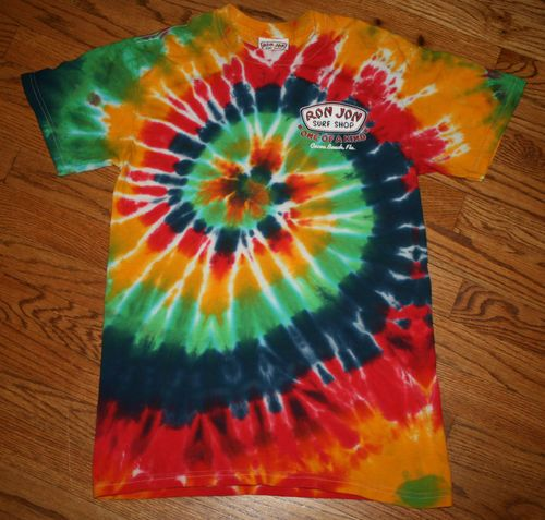 d782a5064 Rare Ron Jon Surf Shop Tie Dye beach T-Shirt Tee-Adult Small-Cocoa ...