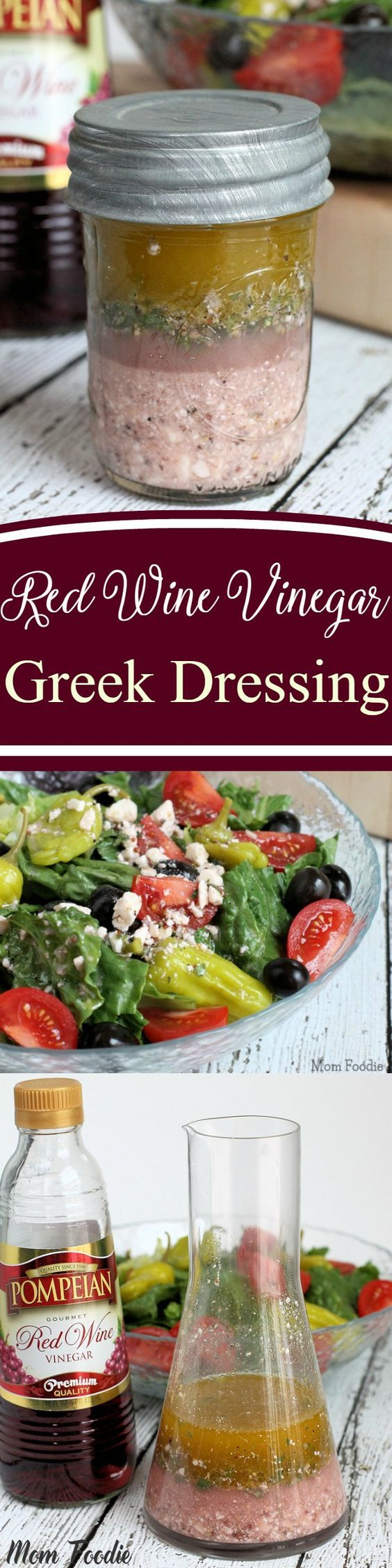 Red Wine Vinegar Greek Dressing #farmhouserulesrecipes