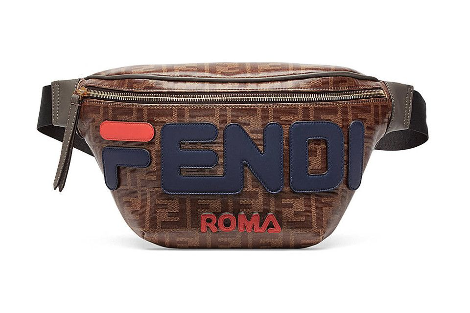 e30dcaec021 Embrace the  90s With Fendi s Must-Cop FILA-Inspired Fanny Pack ...