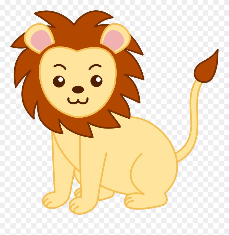 Lion Artwork Clipart Lion Clipart Png Download 5333015 Is A Creative Clipart Download The Transpar Lion Artwork Animal Clipart Free Cute Animals Images
