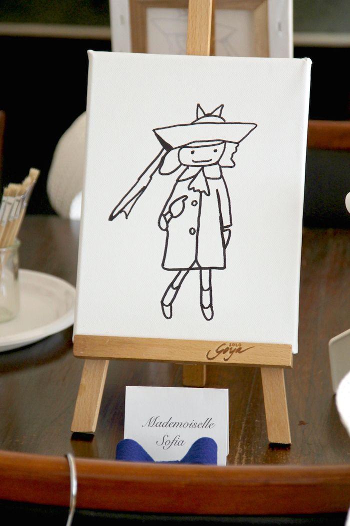 Madeline In Paris Birthday Party Paris Parisian Birthday