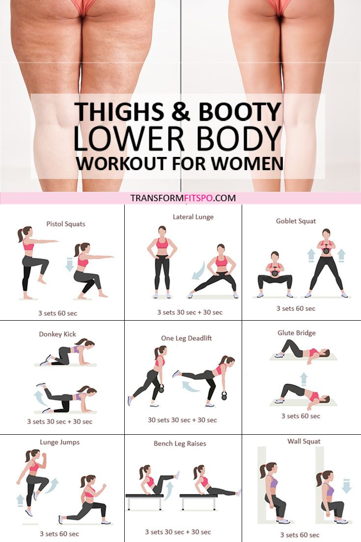 Thighs & Booty Lower Body Workout for Women