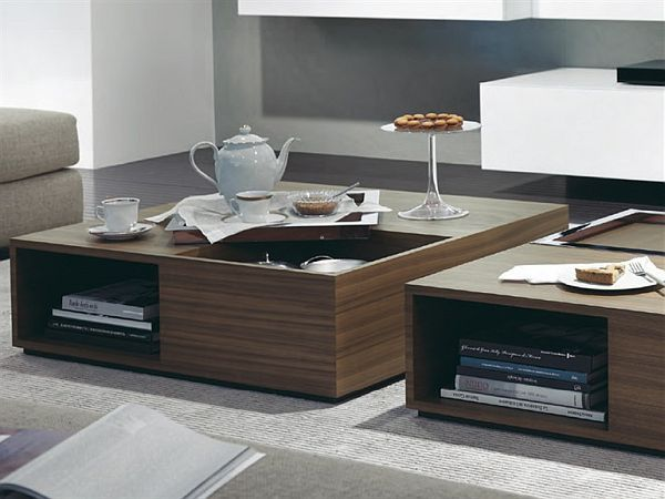 10 modern coffee tables wooden coffee