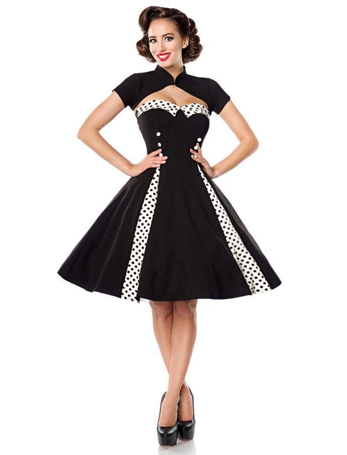 e11ca3c62165ba Belsira Vintagekleid mit Godets in Vintage Kleider