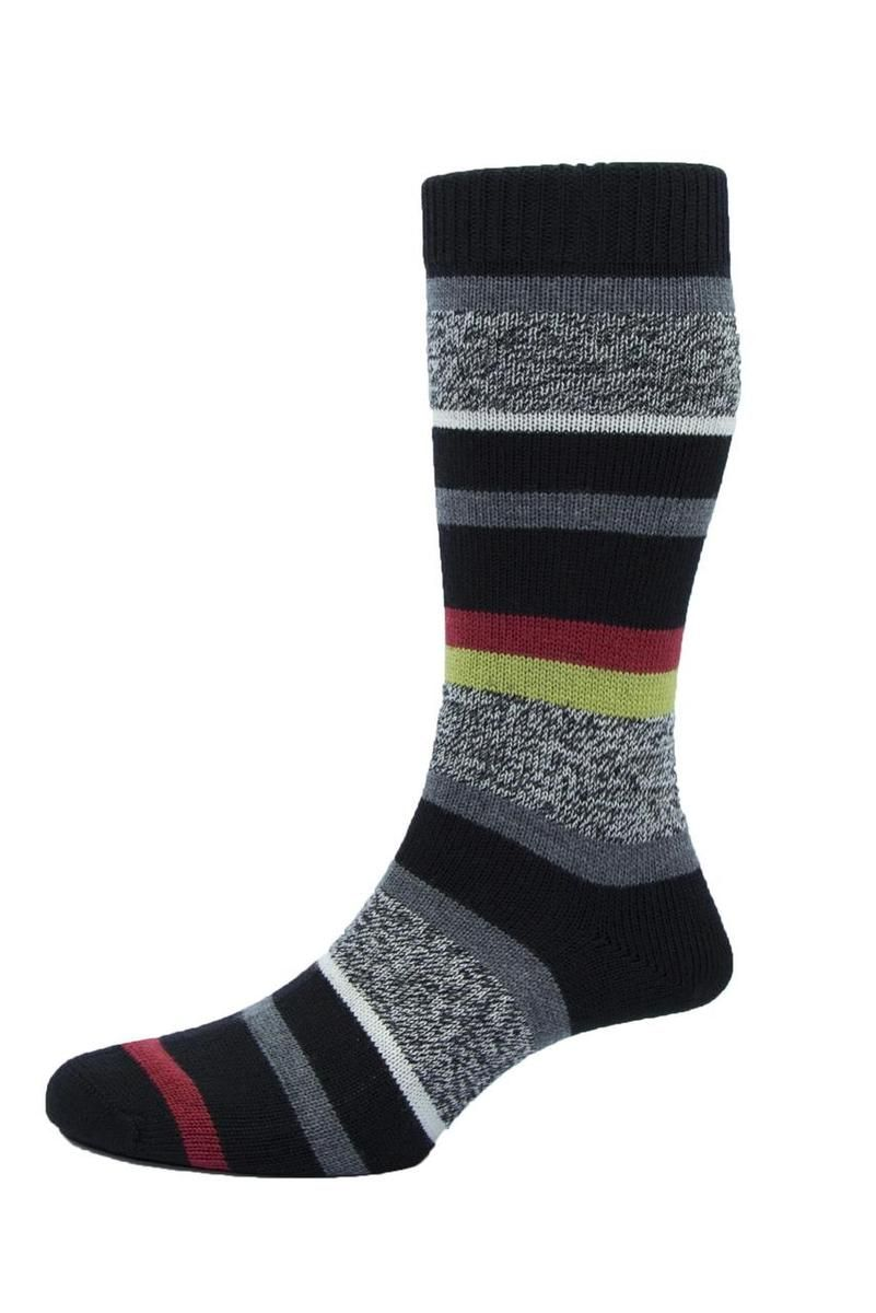 Seriously Silly Socks - Saddleworth design men's striped socks by Pantherella. Made in England from Merino wool, £17.00 (http://www.seriouslysillysocks.com/saddleworth-design-mens-striped-socks-by-pantherella-made-in-england-from-merino-wool/)