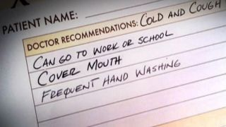 When should you stay home from school or work?