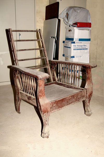 My Grandma Oliver's 1905 Morris Chair Restoration Here is another old item  given to me by my parents to restore in my spare time. Agai. - My Grandma Oliver's 1905 Morris Chair Restoration Here Is Another