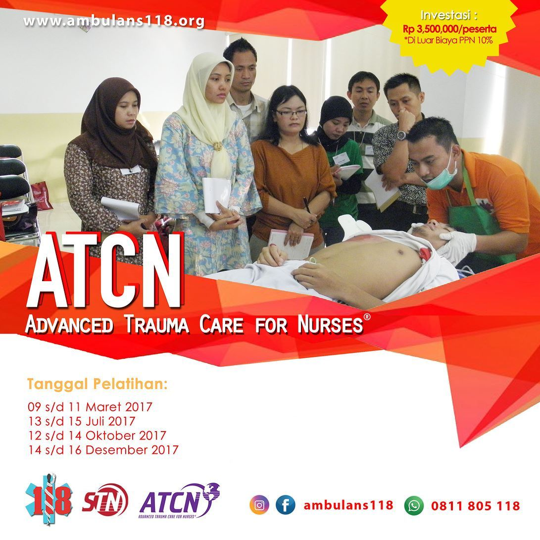 Tentang ATCN Kerjasama tim antara dokter dan perawat di