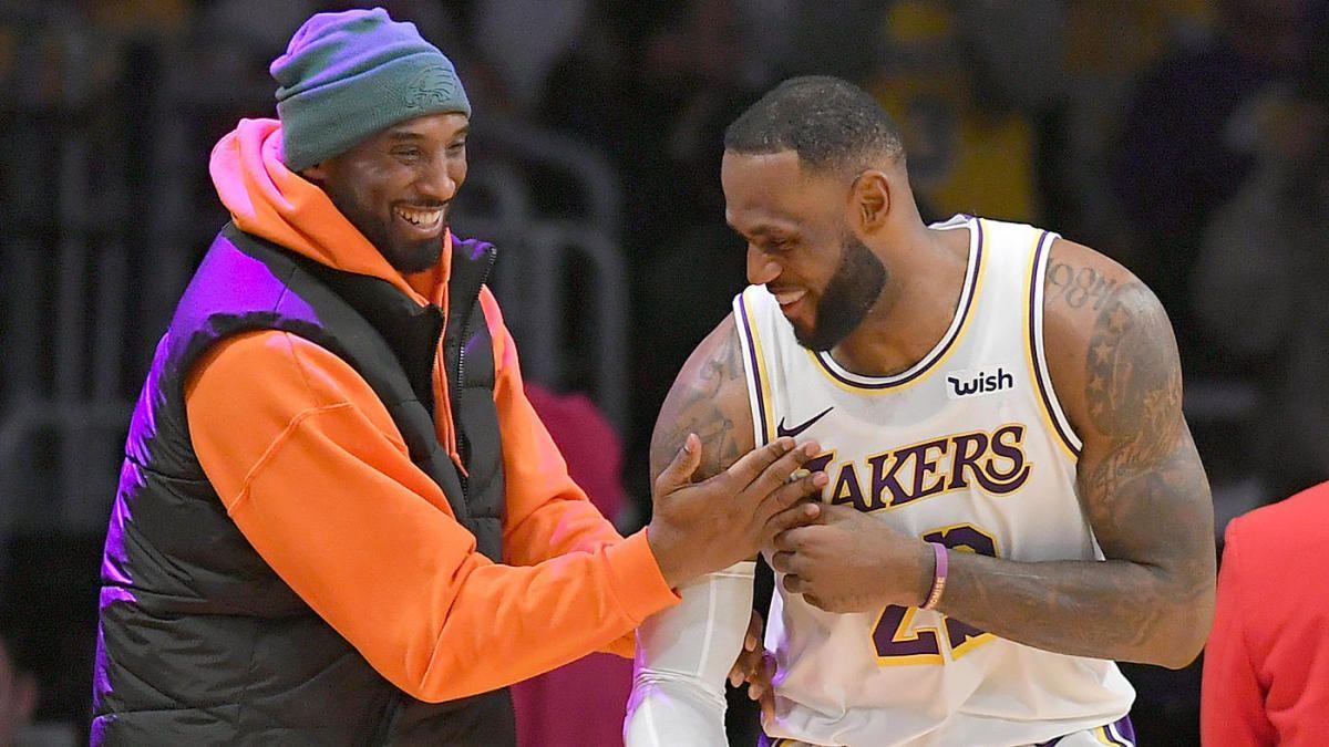 NBA Star Index LeBron James passing Kobe Bryant on career