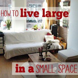 Small space utilization ideas. Really great mind makeover on what we ...